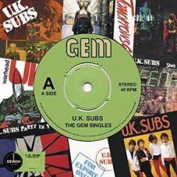U.K. SUBS - Gem Singles / vinyl bakelit / LP