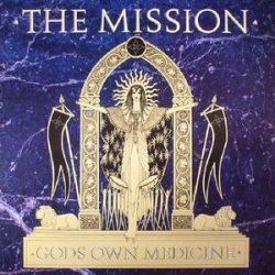 MISSION - God's Own Medicine / vinyl bakelit / LP