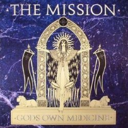MISSION - God's Own Medicine / vinyl bakelit / LP