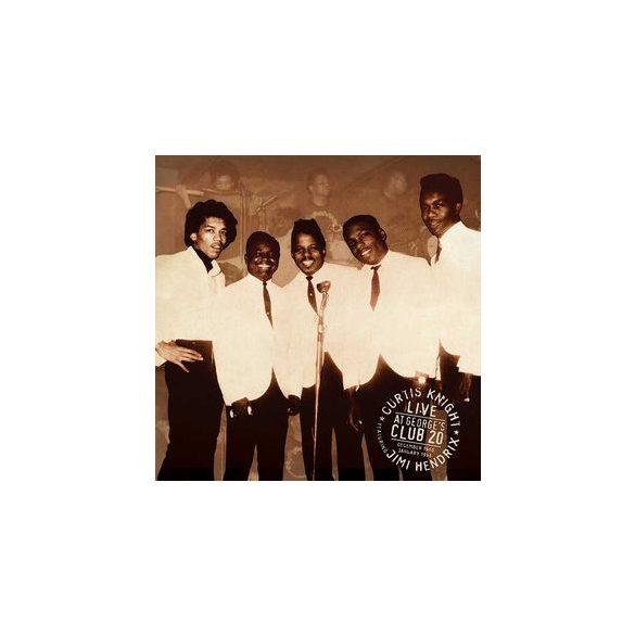 CURTIS KNIGHT & JIMI HENDRIX  - Live At Georges Club / vinyl bakelit / LP
