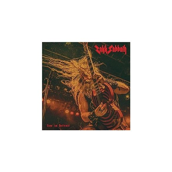 ZAKK SABBATH - Live In Detroit / vinyl bakelit / LP