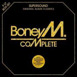 BONEY M - Vinyl Box / vinyl bakelit / 9xLP