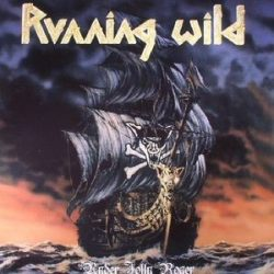 RUNNING WILD - Under Jolly Roger / vinyl bakelit / LP