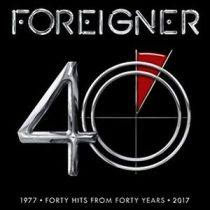 FOREIGNER - 40. 1977 Hits From Forty Years 2017 / vinyl baeklit / LP