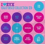 VÁLOGATÁS - I Love ZYX Italo Disco Collection vol.23. / 3cd / CD