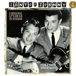 SANTO AND JOHNNY - 5 Original LP's On CD In Stereo / 3cd / CD