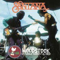 SANTANA - Woodstock Saturday / vinyl bakelit / LP