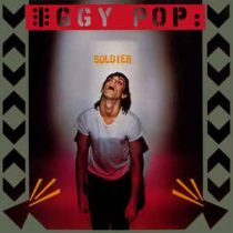 IGGY POP - Soldier / vinyl bakelit / LP