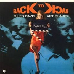 MILES DAVIS & ART BLAKEY - Back To Black / vinyl bakelit / LP