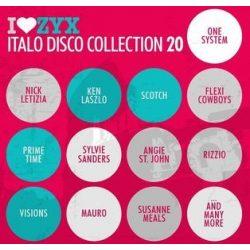 VÁLOGATÁS - I Love ZYX Italo Disco Collection vol.20. / 3cd / CD