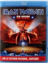 IRON MAIDEN - En Vivo / blu-ray / BRD