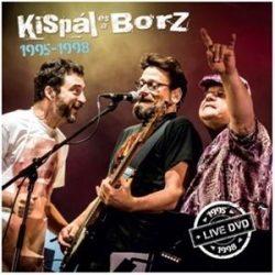 KISPÁL ÉS A BORZ - 1995-1998 box / 4cd+1dvd/ CD