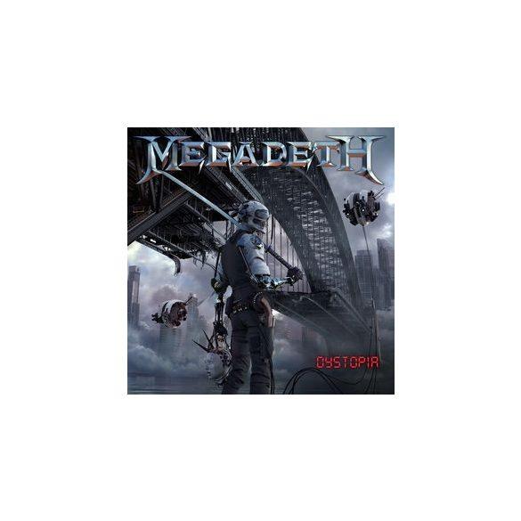 MEGADETH - Dystopia / vinyl bakelit / LP