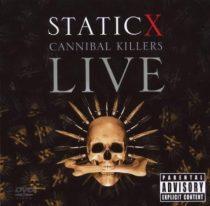 STATIC-X - Cannibal Killers Live / cd+dvd / CD