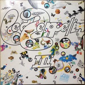 LED ZEPPELIN - III. -reissue- / vinyl bakelit / LP