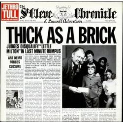 JETHRO TULL - Thick As A Brick / vinyl bakelit / LP