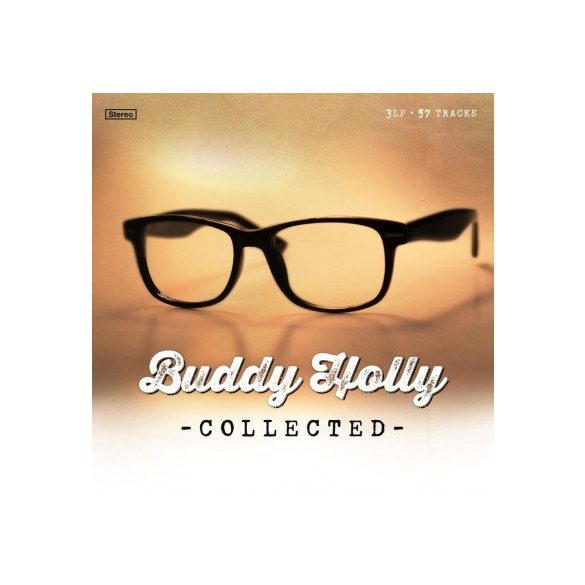 BUDDY HOLLY - Collected / vinyl bakelit limited collected / 3xLP