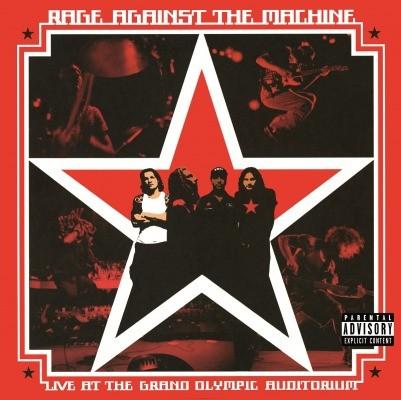 RAGE AGAINST THE MACHINE - Live At The Grand Olyimpic Auditorium / vinyl bakelit / LP