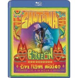 SANTANA - Corazon Live From Mexico / blu-ray / BRD