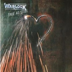 WARLOCK - True As Steel / vinyl bakelit / LP