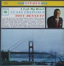 TONY BENNETT - I Left My Heart In San Francisco / vinyl bakelit / LP