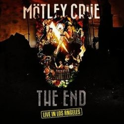 MOTLEY CRUE - The End Live In Los Angeles / vinyl bakelit+dvd / 2xLP
