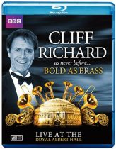 CLIFF RICHARD - Bold As Brass Live At The Albert Hall /blu-ray/ BRD