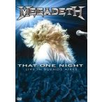 MEGADETH - That One Night  DVD