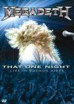 MEGADETH - That One Night /dvd+cd/ DVD