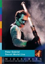 PETER GABRIEL - Secret World Live DVD