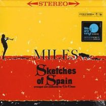 MILES DAVIS - Sketches Of Spain / limited yellow vinyl bakelit / LP