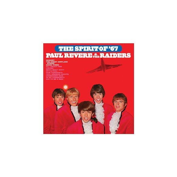 PAUL REVERE & THE RAIDERS - The Spiirit Of '67 / vinyl bakelit / LP