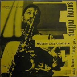 SONNY ROLLINS - With The Modern Jazz Quartett / vinyl bakelit / LP