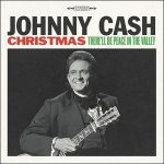 JOHNNY CASH - Christmas There'll Be Peace In The Valley / vinyl bakelit / LP