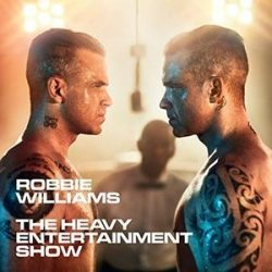 ROBBIE WILLIAMS - Heavy Entertainment Show / cd+dvd hardcover edition / CD