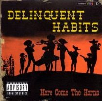 DELINQUENT HABITS - Here Comes The Horns / vinyl bakelit / 2xLP