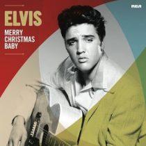ELVIS PRESLEY - Merry Christmas Baby / vinyl bakelit / LP
