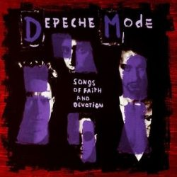 DEPECHE MODE - Songs Of Faith And Devotion / sony vinyl bakelit / LP