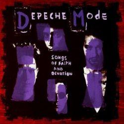 DEPECHE MODE - Songs Of Faith And Devotion / sony vinyl bakelit / LP
