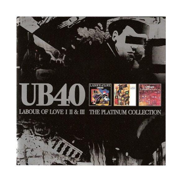 UB40 - Labour Love 1,2,3 Platinum Collection / 3cd / CD