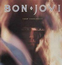 BON JOVI - 7800 Fahrenheit / vinyl bakelit / LP