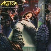 ANTHRAX - Spreading The Disease CD