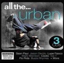 VÁLOGATÁS - All The Urban / 3cd / CD