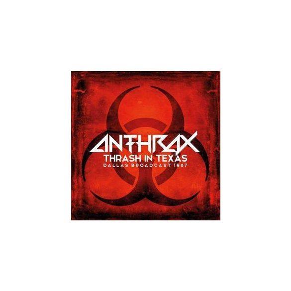 ANTHRAX - Thrash In Texas / limitált színes vinyl bakelit / 2xLP