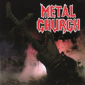 METAL CHURCH - Metal Church / vinyl bakelit / LP