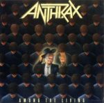 ANTHRAX - Among A Living CD