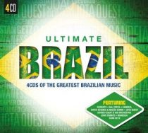 VÁLOGATÁS - Ultimate...Brazil / 4cd / CD