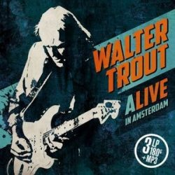 WALTER TROUT - Alive In Amsterdam / vinyl bakelit / 3xLP