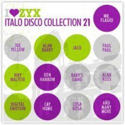 VÁLOGATÁS - I Love ZYX Italo Disco Collection vol.21. / 3cd / CD