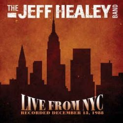 JEFF HEALEY - Live From NYC CD